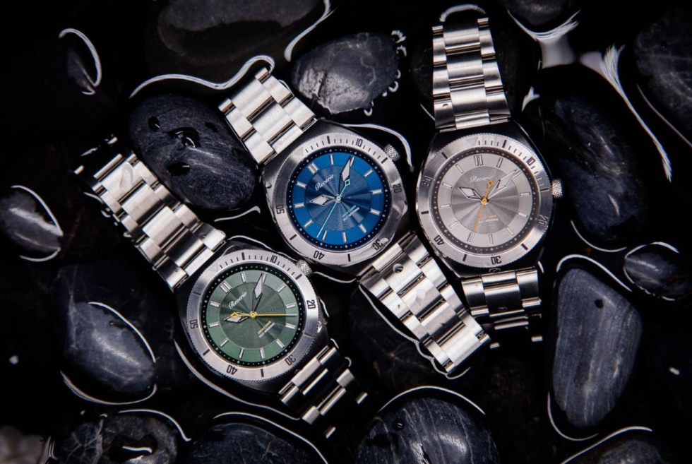 The Reverie Diver is one of the slimmest dive watches you can own right now