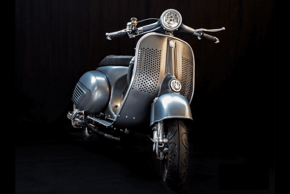 Scooter Service Offers Aftermarket Parts Tuning And Bespoke Vespa Restomods Men S Gear