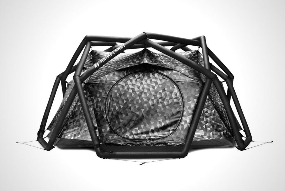 The Heimplanet Cave Tent Now Comes In Limited-Edition Black Cairo Camo