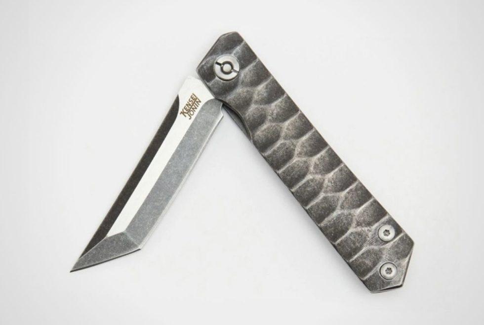 The Kensei Jonin Framelock pocket knife Is Gorgeous As It Is Functional