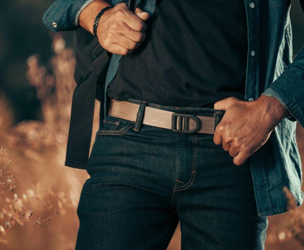 Kore Tactical Gun Belt With Trakline Technology Men S Gear Magpul tejas gun belt el burro black. kore tactical gun belt with trakline