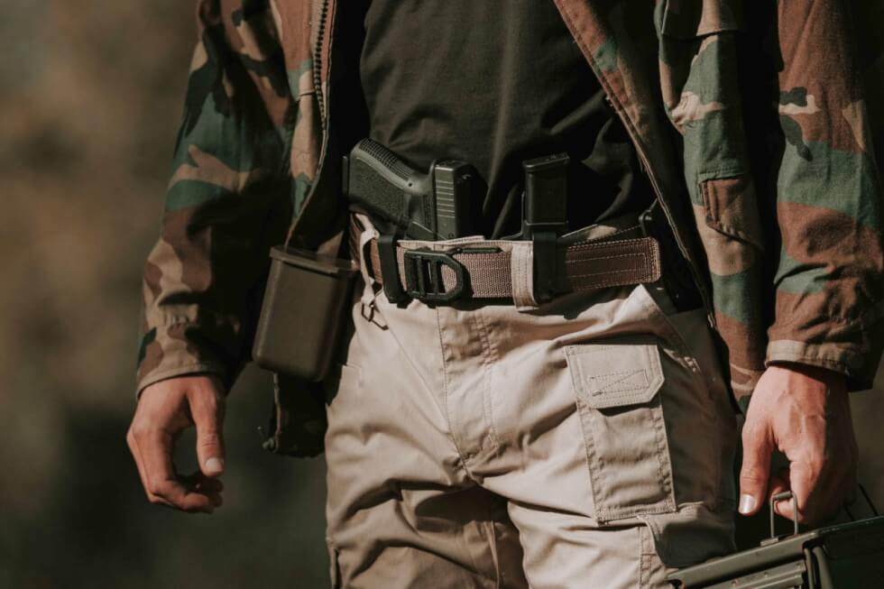 Kore Tactical Gun Belt With Trakline Technology Men S Gear Make the switch to the future of edc gear. kore tactical gun belt with trakline