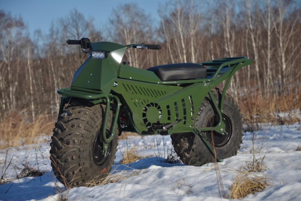 Enjoy your outdoor adventures aboard the 2020 Tarus 2×2 motorcycle