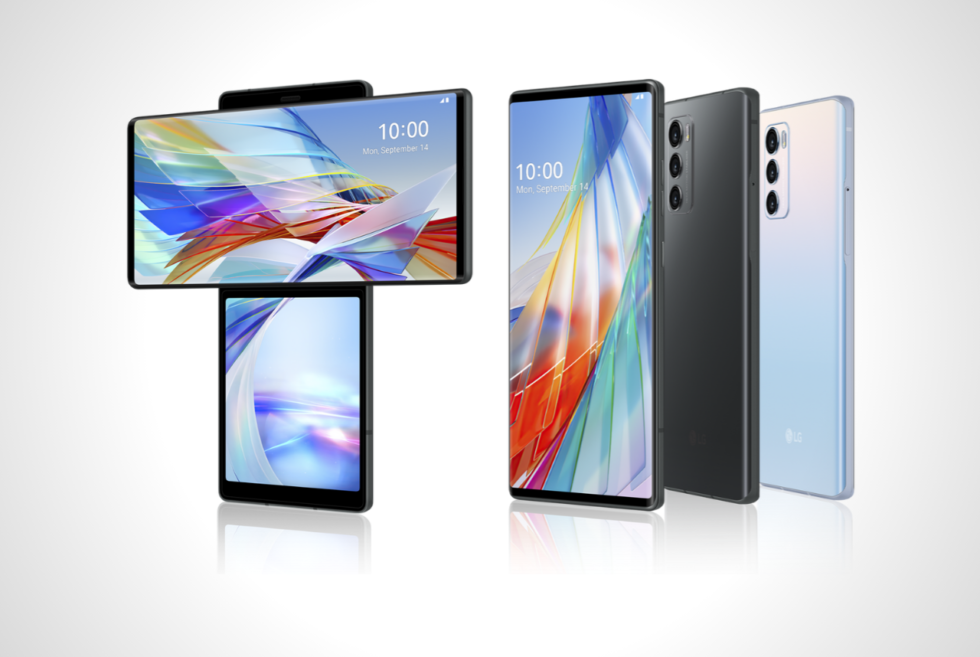 LG gives the Wing a cool dual-screen configuration like no other