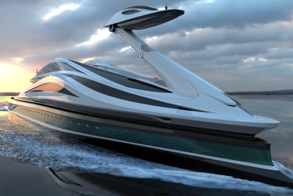 Lazzarini Design Studio presents the Avanguardia swan yacht concept