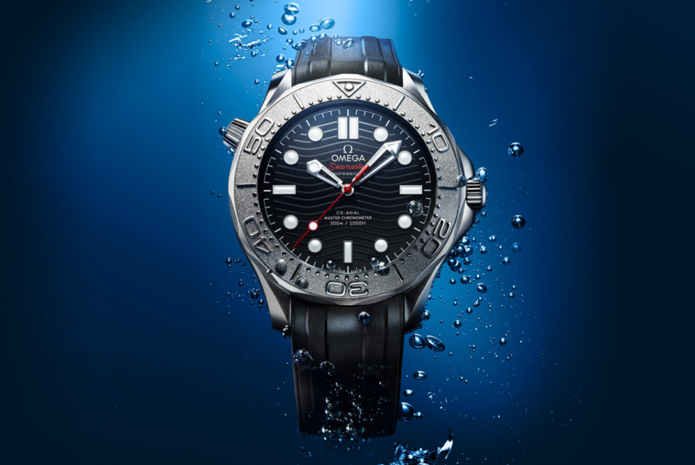 The Seamaster Diver 300M Nekton Edition shows Omega's support for ocean conservation