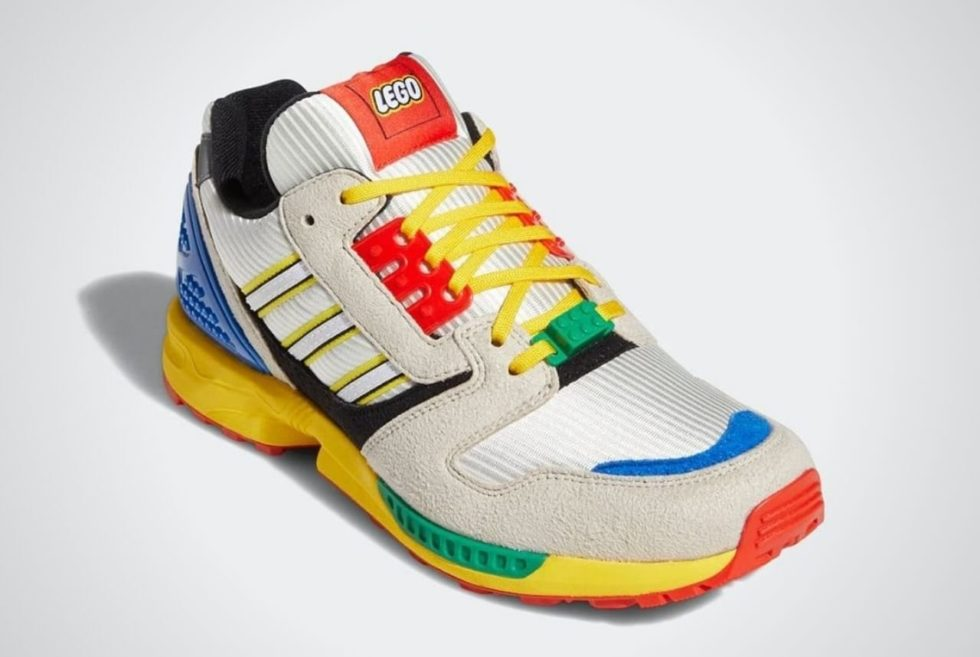Go For Playful Sneakers with the LEGO Adidas A-ZX 8000