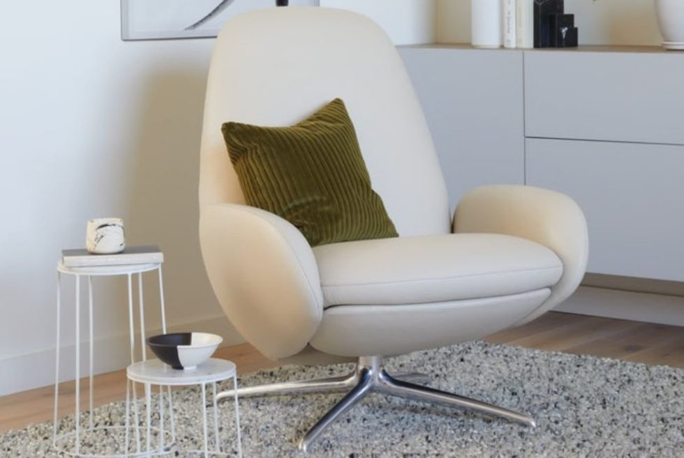 The DWR Vala Swivel Recliner Stretches and Pivots For Superior Comfort