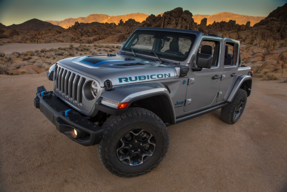 Jeep is launching its Wrangler 4Xe hybrid in 2021