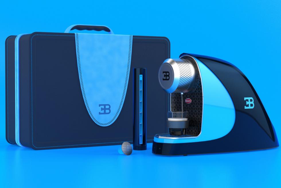 Designer Fábio Martins visualizes the Bugatti Etiron Espress Machine