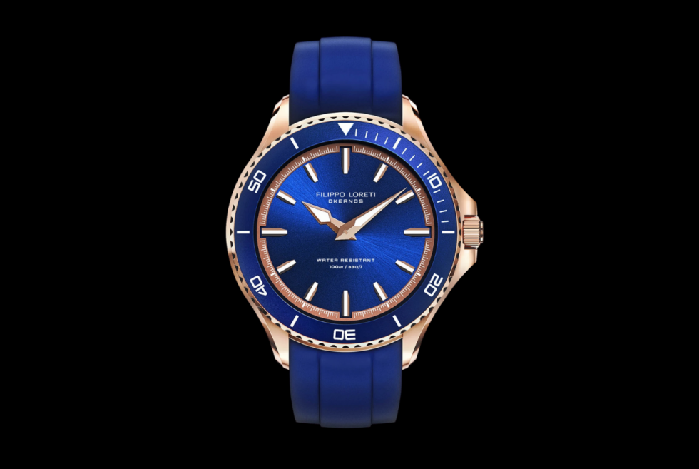 Filippo Loreti dedicates the Okeanos dive watch as a tribute to the Titan Oceanus