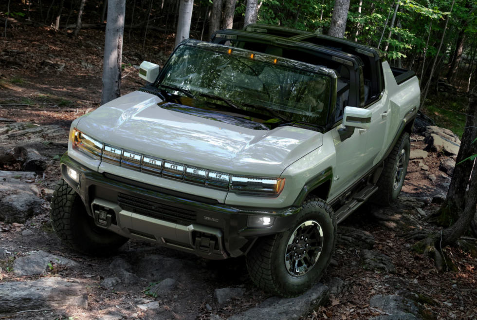 GMC is taking on the Cybertruck with the Hummer EV Edition 1
