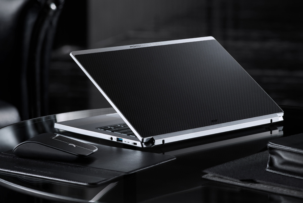 The Acer Book RS looks stunning together with its Porsche Design accessories