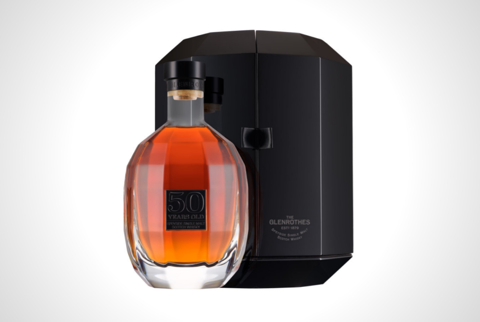 The Glenrothes teases its exclusive batch of 50-year-old single malt scotch