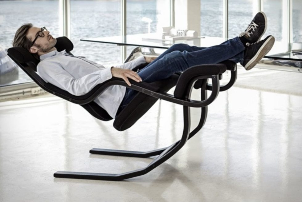 Drift Off Into Weightlessness With the Varier Gravity Chair