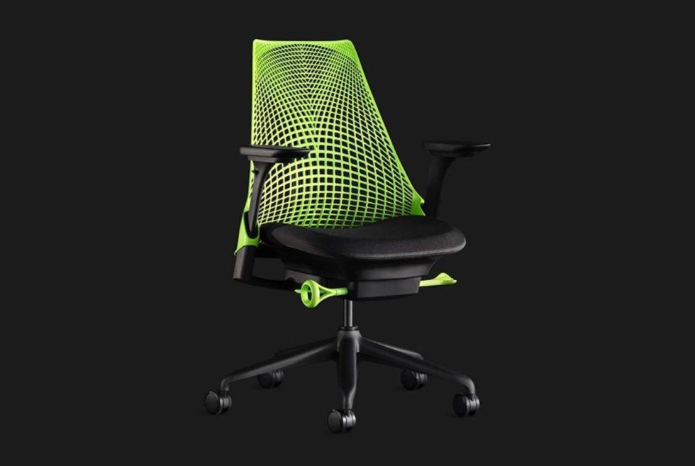 Herman Miller's Sayl Chair Is For The Restless Gamer