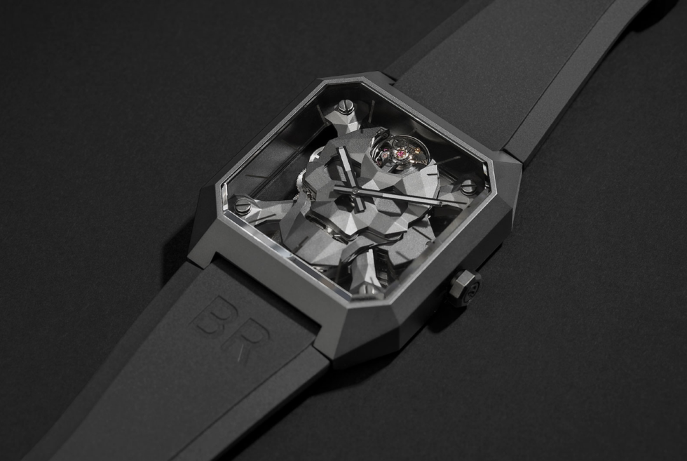 Bell & Ross Breaks Its Longtime Design Tradition with The BR 01 CYBER SKULL