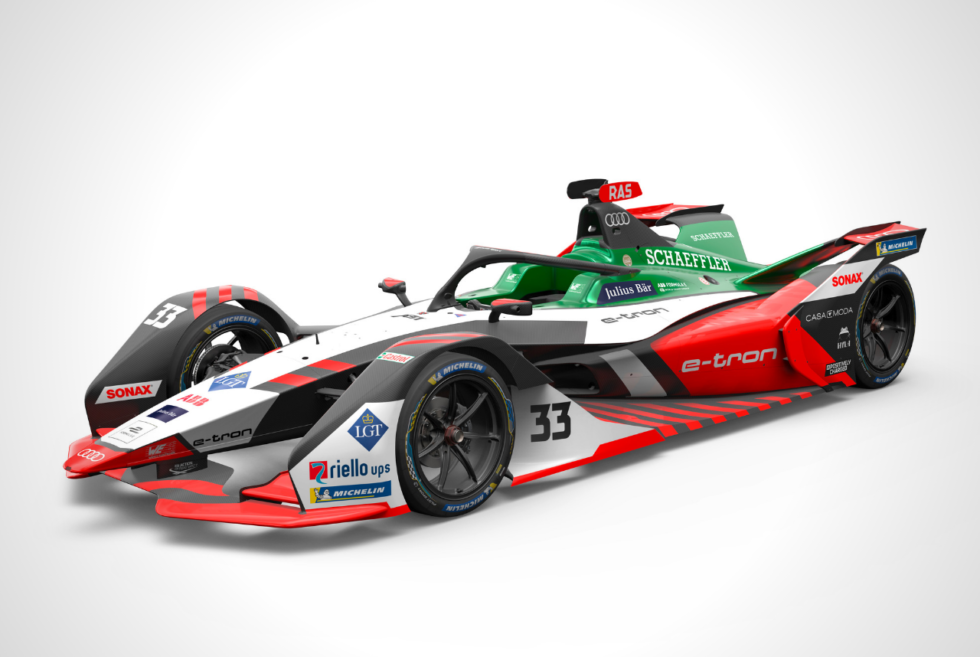 Audi's e-tron FE07 Formula E race car is packing an new in-house electric powertrain