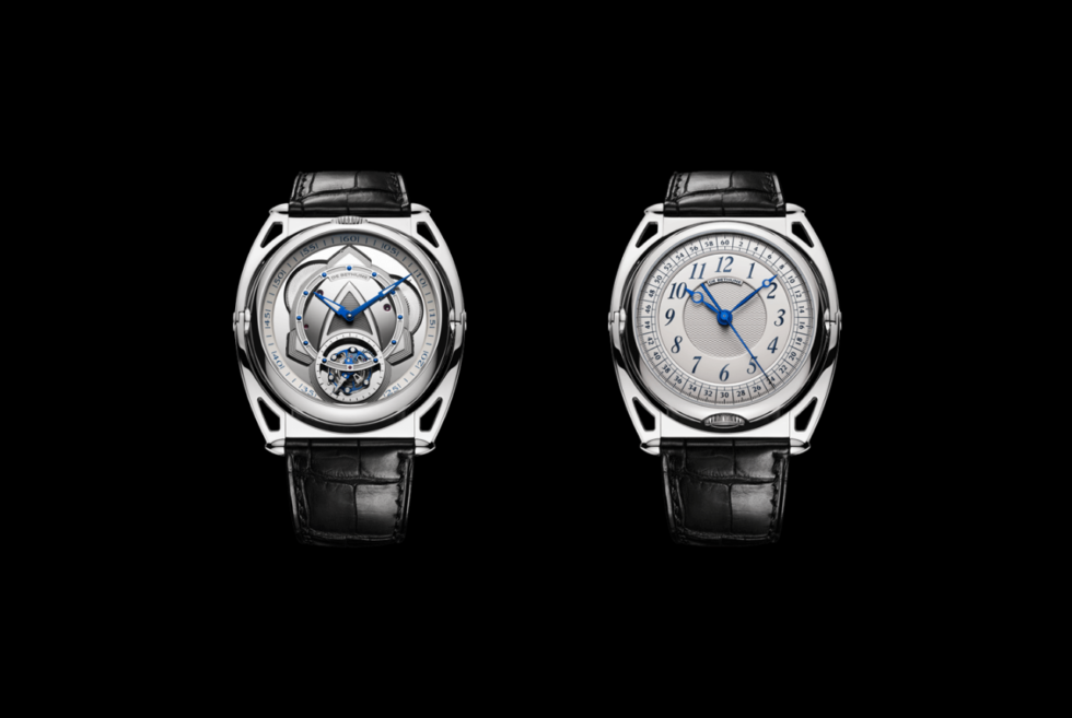 De Bethune's DB Kind of Two Tourbillon watch can switch dials to match your style