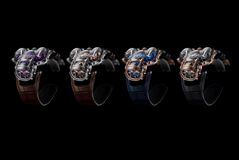 MB&F channels underwater exploration with its HM9 Sapphire Vision collection