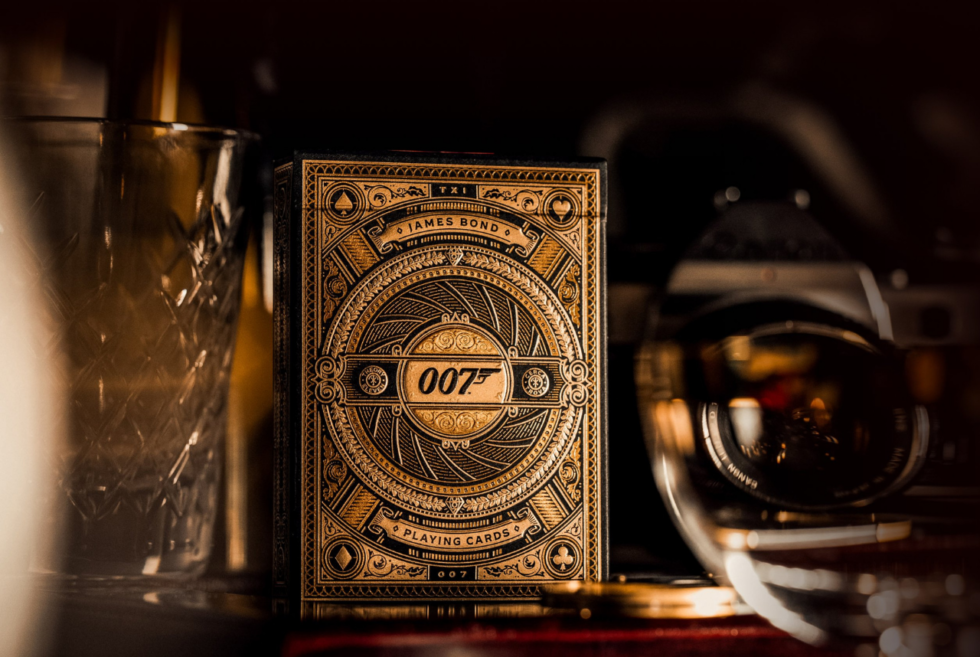 Theory11 offers its James Bond 007 Playing Cards ahead of the next film's release