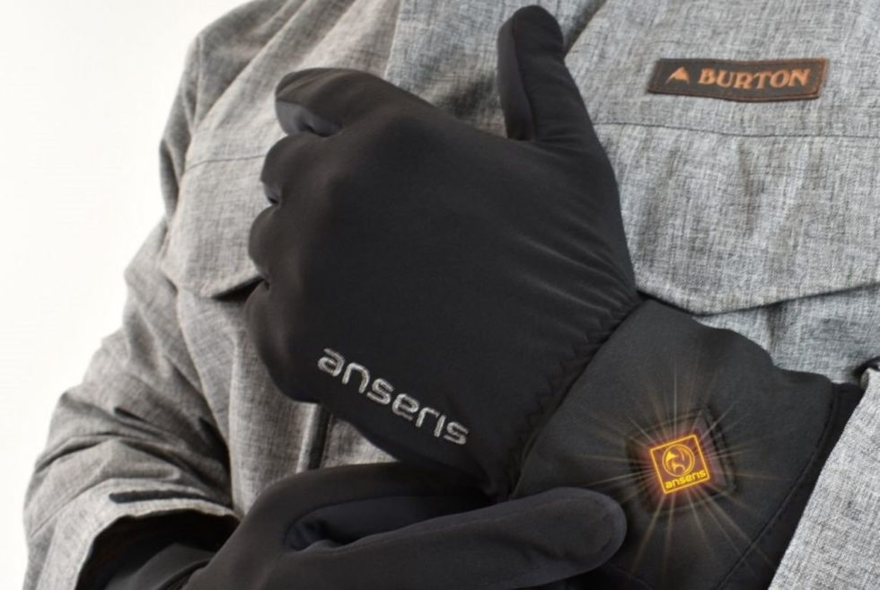 Forget Cold, Numb Hands With The Anseris Heated Glove Liners