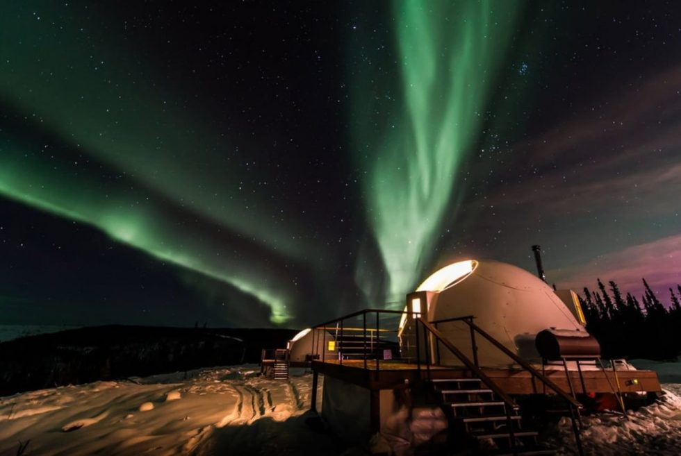 The Borealis Basecamp Offers A Magical Experience With The Northern Lights