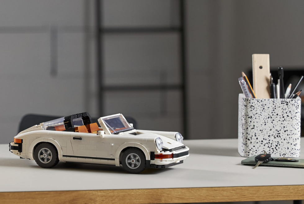 LEGO is teasing Porsche fans with this 2-in-1 911 Turbo/Targa Creator set