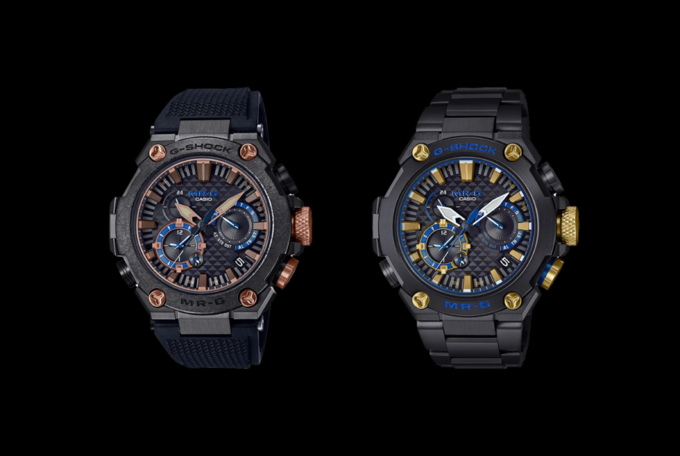 Casio's G-SHOCK MR-G lineup gets another pair of Samurai-inspired watches