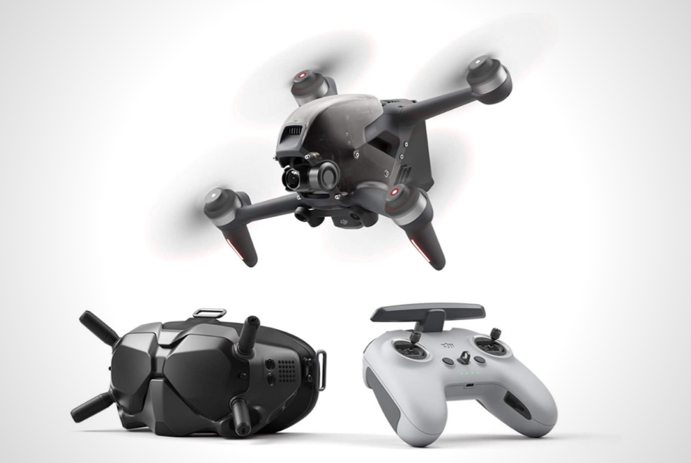 The DJI FPV gives us everything we need for drone racing and more