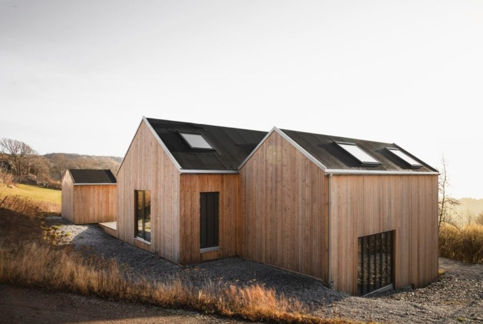 Spend Your Summer On Sweden's Rocky Coastline At the Archipelago House