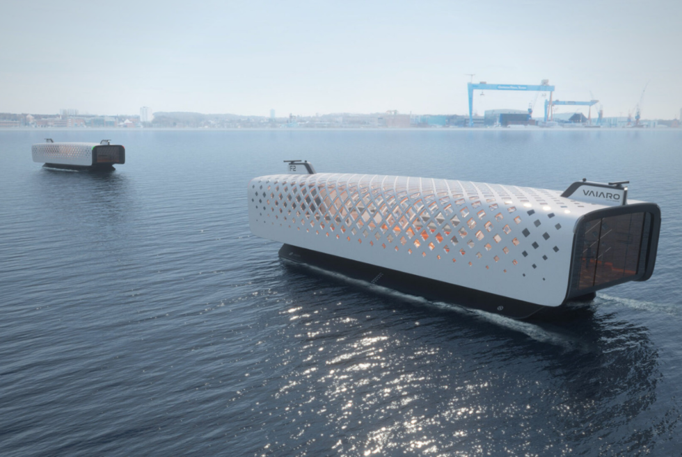CAPTN VAIARO: An all-electric autonomous ferry concept for Kiel Fjord commuters