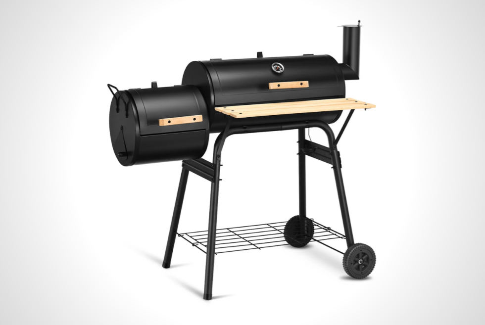 Ditch the propane or natural gas and go for charcoal with the Costway BBQ Grill
