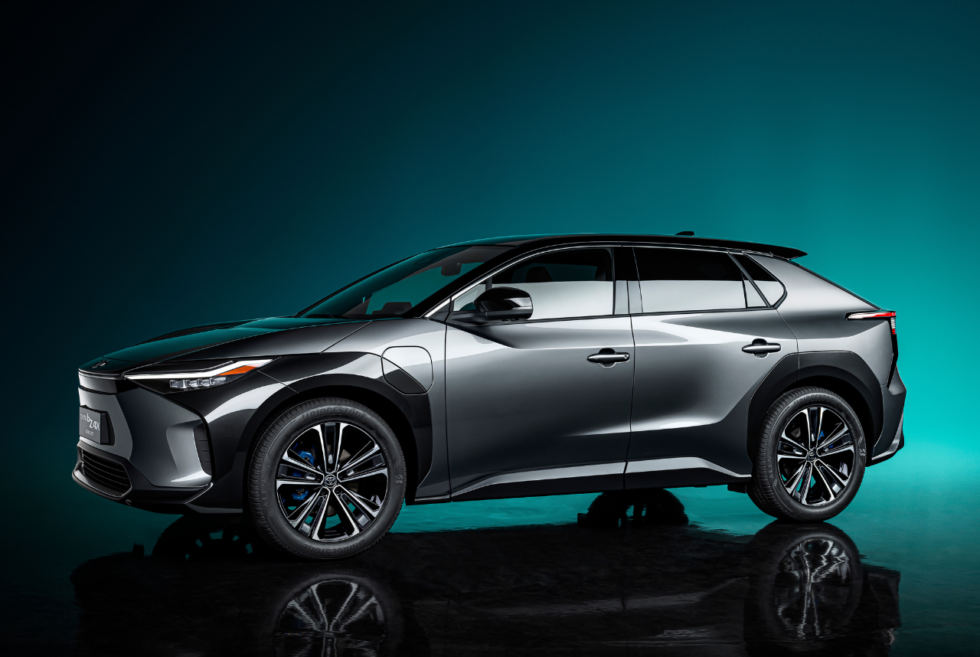 Toyota gives us a sneak peak of its emission-free future with the bZ4X concept SUV