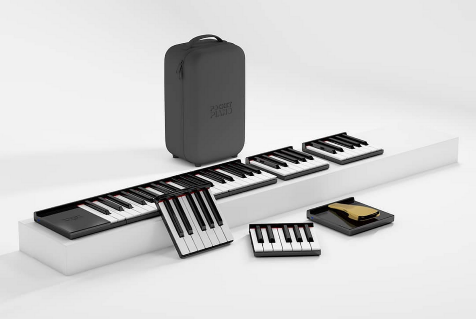 Pocket Piano: A modular electronic keyboard promising portability and performance
