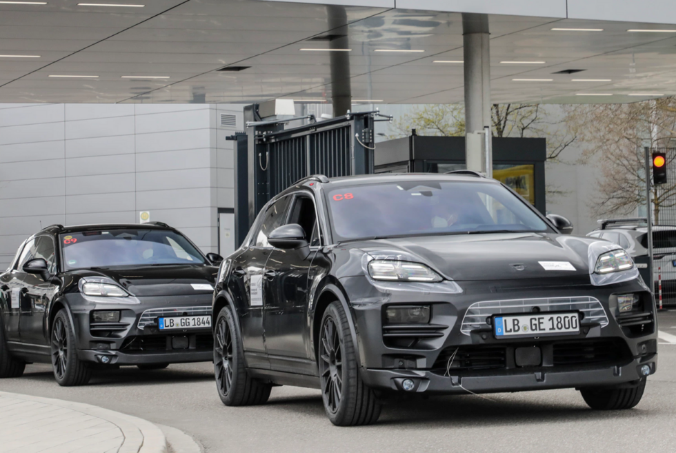 Porsche is already testing prototypes of its upcoming all-electric Macan