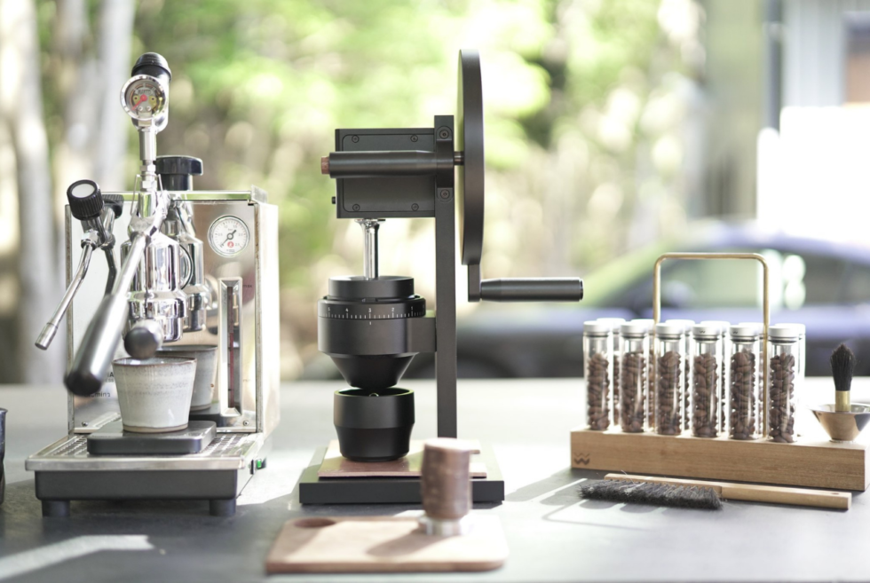 Weber Workshops equips the HG-2 Coffee Grinder with a two-speed transmission