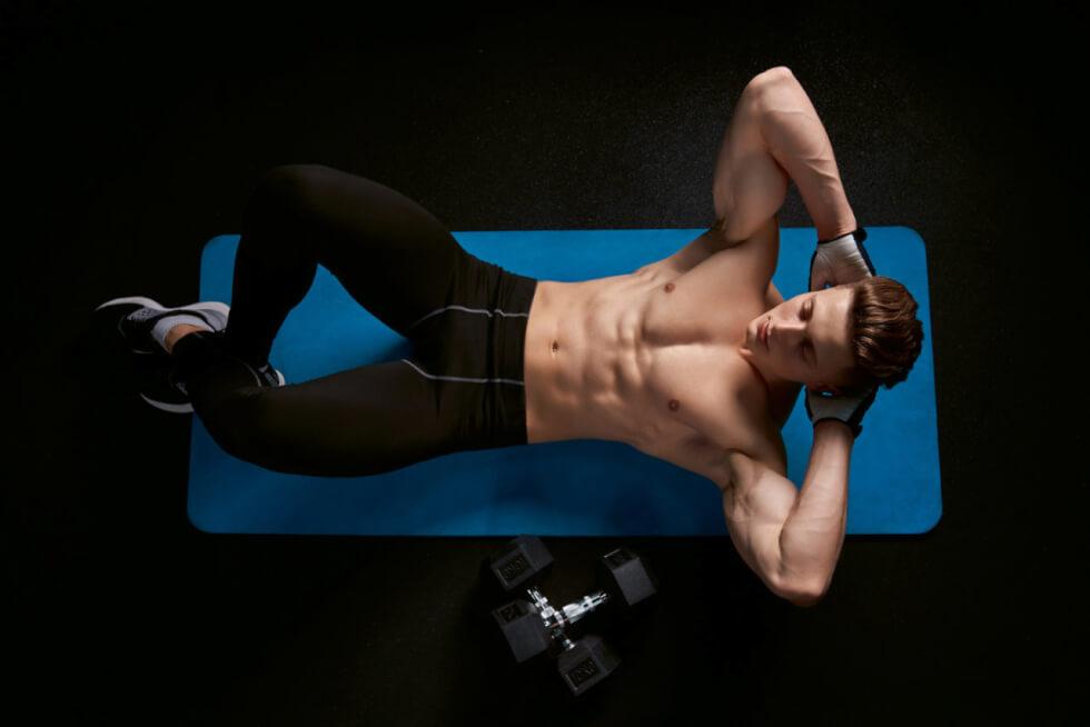 Crunches Cardio Exercise