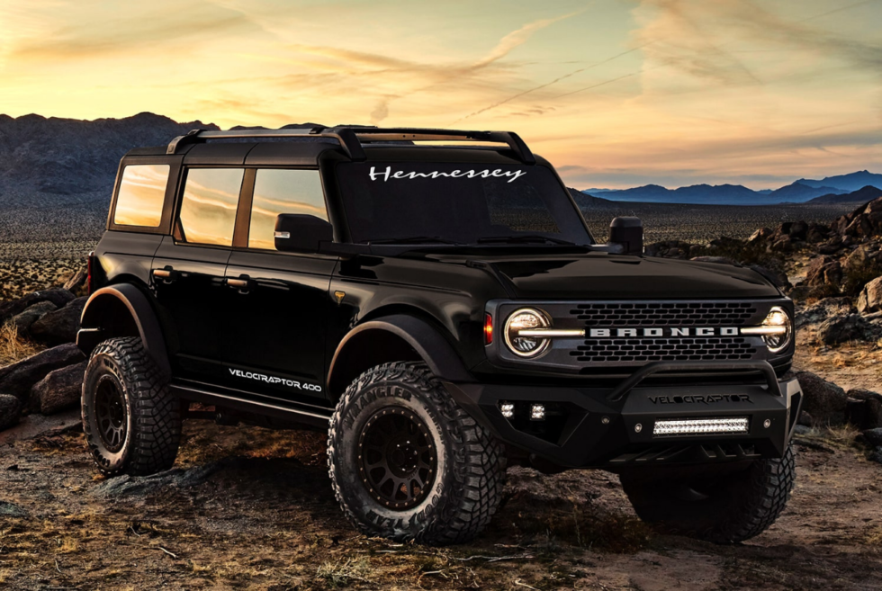Hennessy Performance revisits a Ford SUV in 2021 with the VelociRaptor 400 Bronco