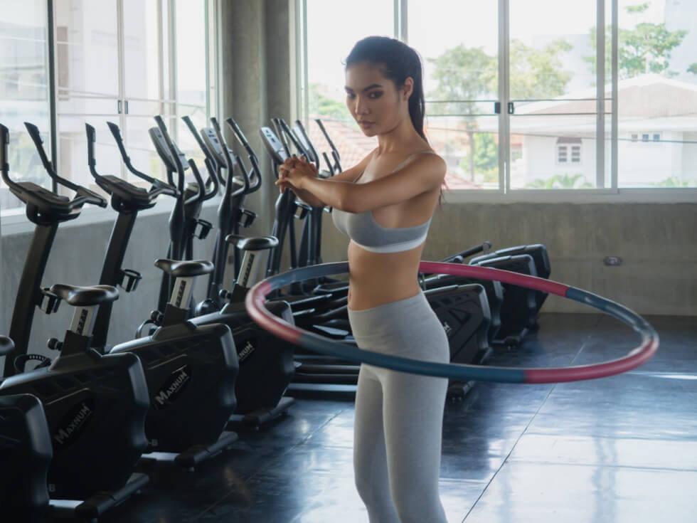 Hula Hoop Cardio Exercise