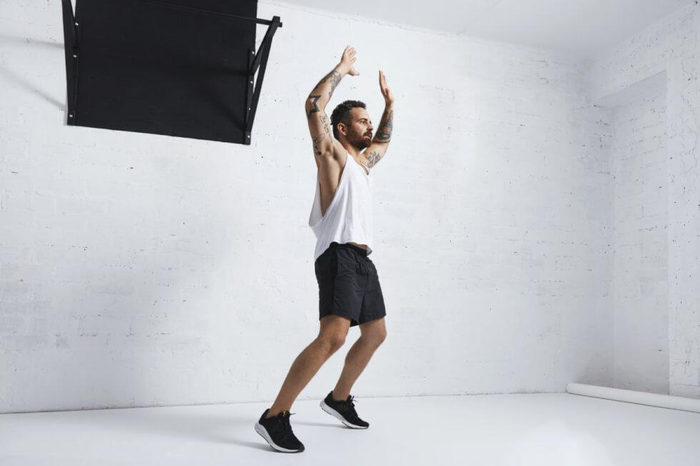 Jumping Jack Cardio Exercise