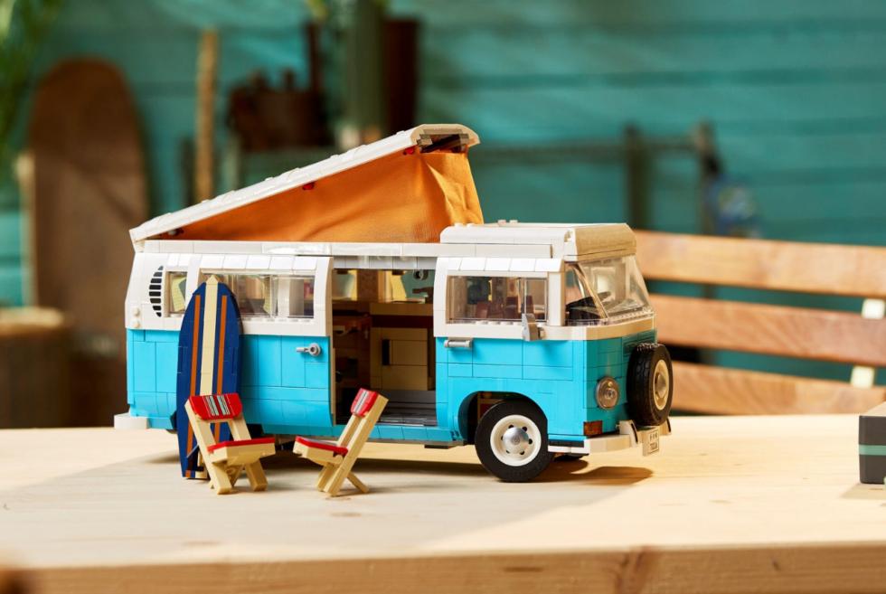 LEGO goes nostalgic with a Volkswagen T2 Camper Van kit under its Creator line