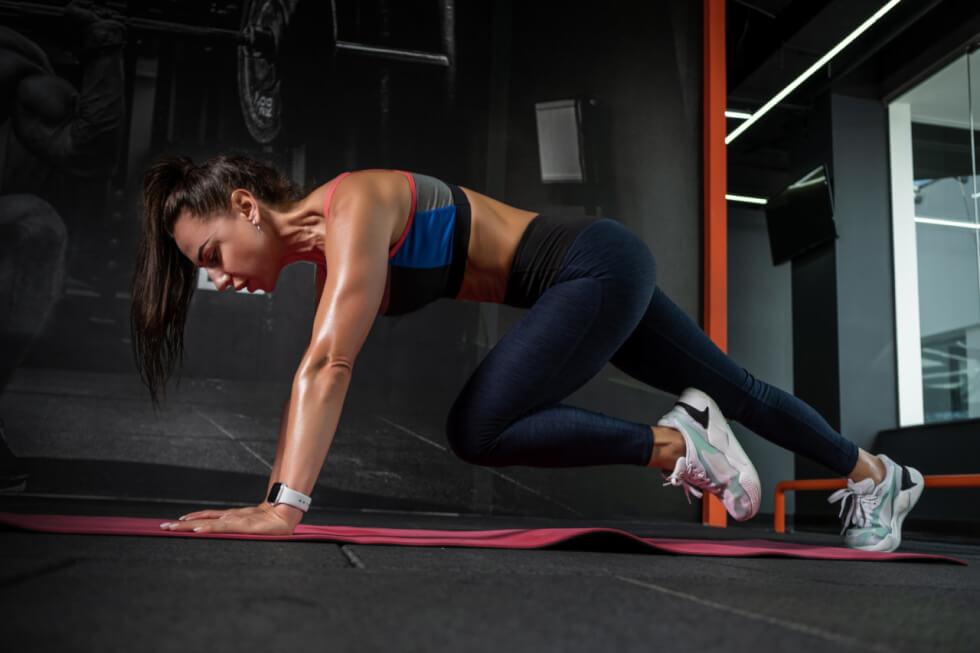 Mountain Climbers Cardio Workout