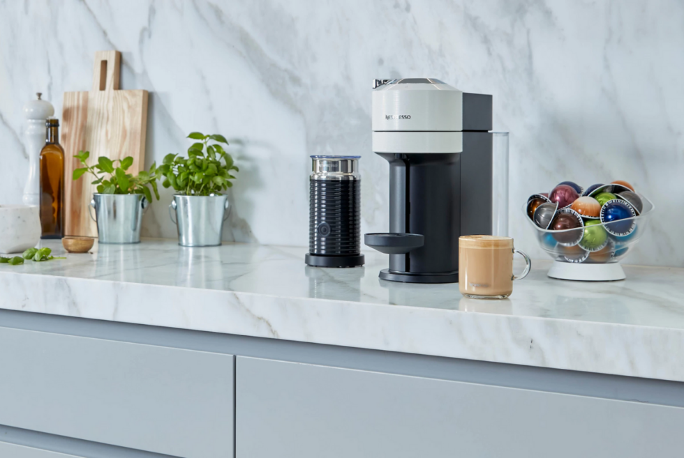 Let the Nespresso Vertuo Next craft your next cup of coffee