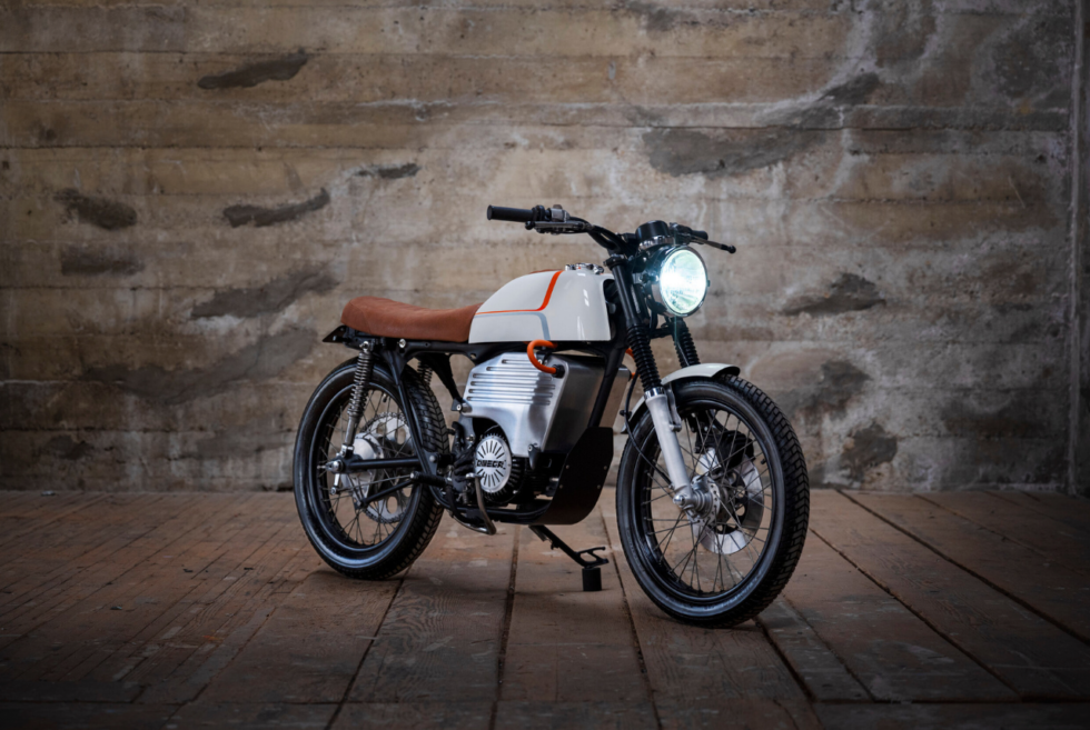 Omega Motors EV200: Turning a 1975 Honda CB200 into a one-off Electric Motorcycle