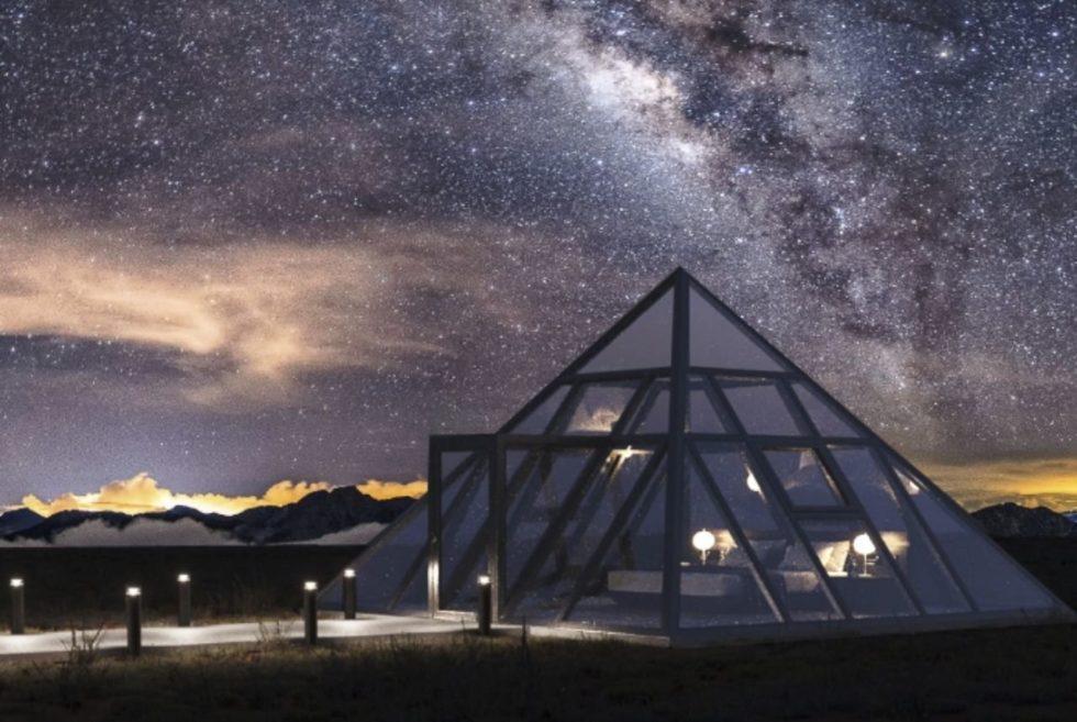 Sleep Under the Stars Inside the Solar-Powered Nomad's Pad