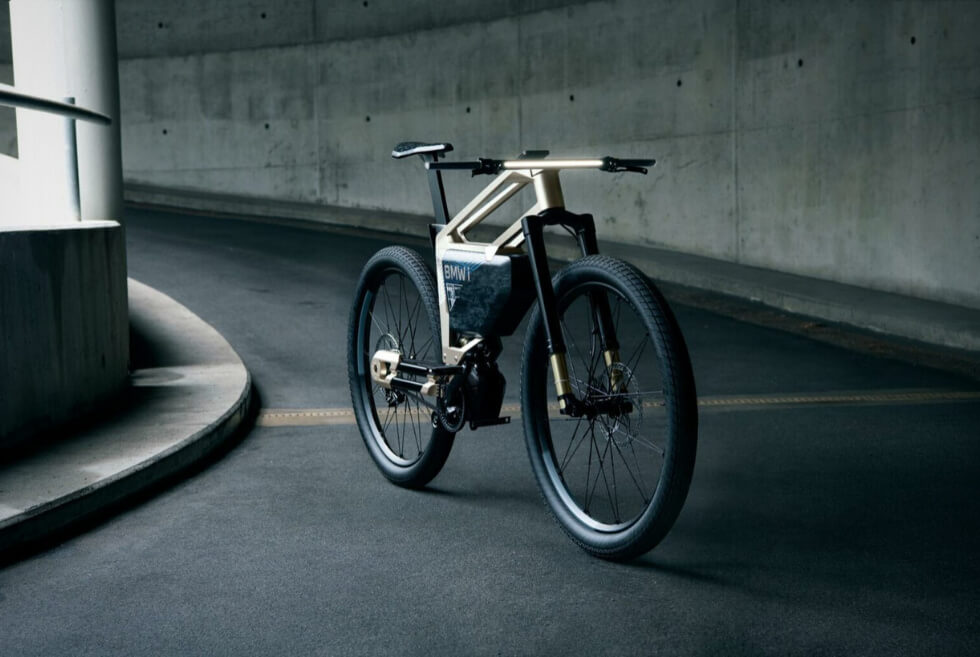 BMW Teases A New E-Bike Concept Called The I Vision AMBY