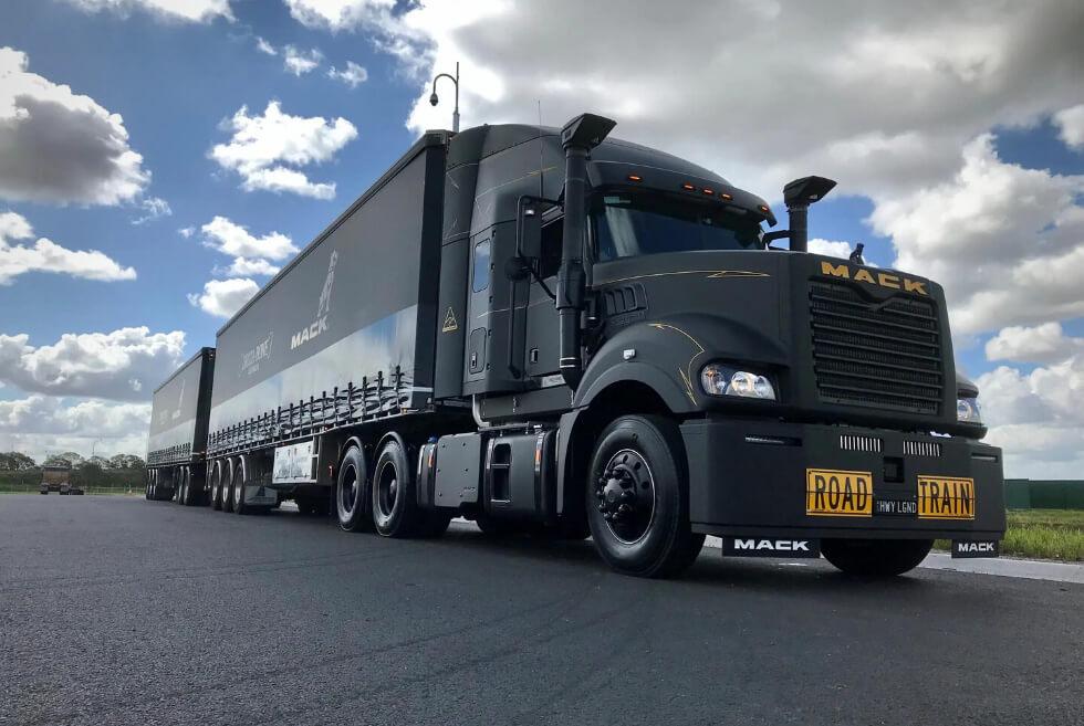 Driza-Bone x Mack Trucks Super-Liner: A Custom Big Rig Heading To Mount Isa's Annual Rodeo