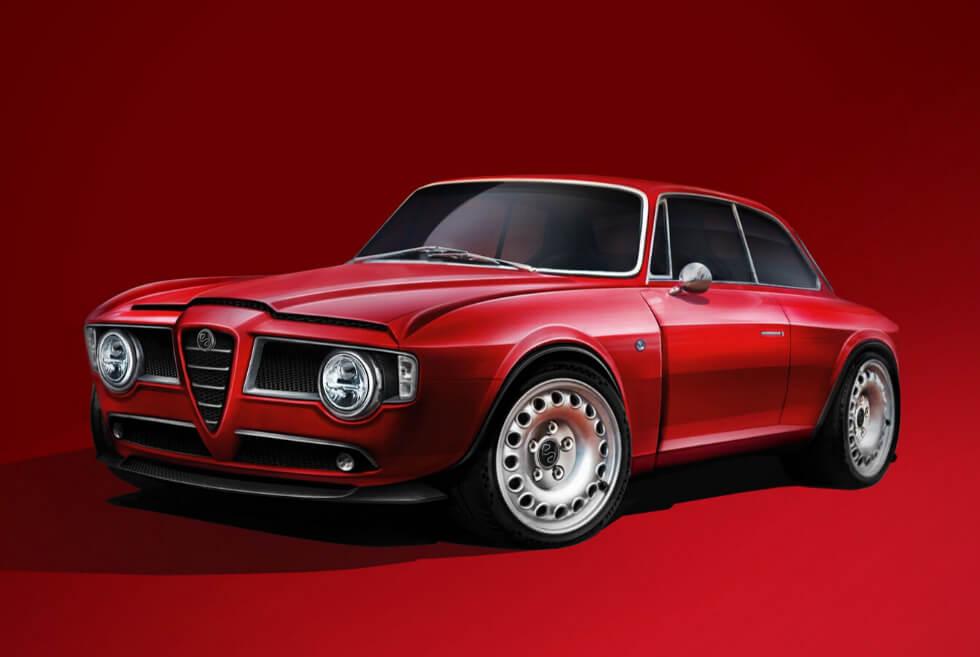 Afla Romeo Fan Will Love The GT Veloce Restomod From Emilia Auto