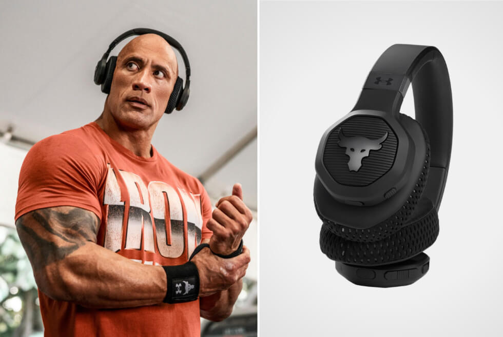 Under Armour: Get These UA Project Rock Training Headphones